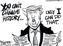 Trump history by Milt Priggee, www.miltpriggee.com