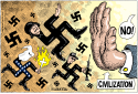 Just Say No to White Supremacy by Monte Wolverton, Cagle Cartoons