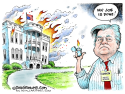 Bannon out COLOR by Dave Granlund, Politicalcartoons.com