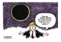 Eclipse 2017 color by Jimmy Margulies, Politicalcartoons.com