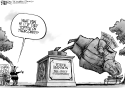 Bannon Statue by Nate Beeler, The Columbus Dispatch