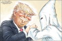 Trump Fist Bump by Ed Wexler, CagleCartoons.com