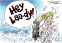 Jerry Lewis by Joe Heller, PoliticalCartoons.com