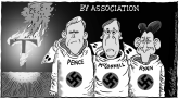 Guilt By Association by Bob Englehart, CagleCartoons.com