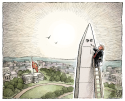 Trump's Washington COLOR by Adam Zyglis, The Buffalo News