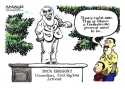 Dick Gregory Obituary color by Jimmy Margulies, Politicalcartoons.com