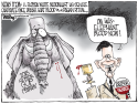 Blood Drinker by Bill Day, Cagle Cartoons