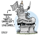 LOCAL NC GOP Monument by John Cole, ncpolicywatch.com