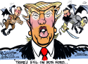 Both Trump Sides by Milt Priggee, www.miltpriggee.com
