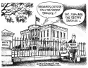 Secret Service funding by Dave Granlund, Politicalcartoons.com
