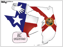 Texas and Florida by Bill Day