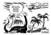 Climate change and hurricanes by Jimmy Margulies, Politicalcartoons.com