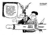Trump and North Korea by Jimmy Margulies, Politicalcartoons.com