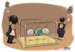 Trump Threatens North Korea Nukes by RJ Matson
