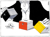 German elections by Michael Kountouris, Greece