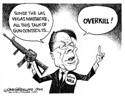 NRA and Las Vegas by Dave Granlund