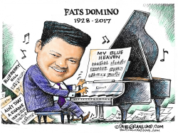 Fats Domino Tribute by Dave Granlund