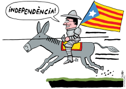 Catalonia independence by Schot