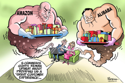 E-Commerce giants by Paresh Nath