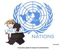 United Nations by Neils Bo Bojeson