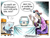 EPA cuts COLOR by Dave Granlund, Politicalcartoons.com