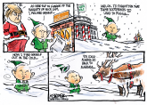 Meanwhile in the North Pole by Jeff Koterba, Omaha World Herald, NE