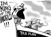 Titanic Tax by Pat Bagley, Salt Lake Tribune