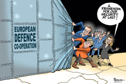European defence by Paresh Nath