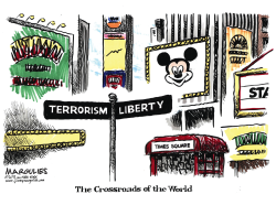 NYC terrorism color by Jimmy Margulies