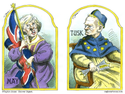 Brexit negotiations by Taylor Jones