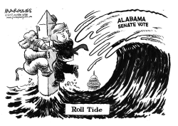 Alabama Senate Vote by Jimmy Margulies