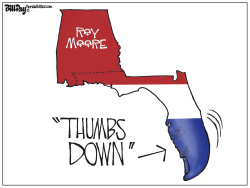Roy Moore FLORIDA by Bill Day