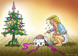 Trumps Brain by Marian Kamensky