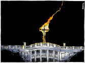 White House in Trump Era by Michael Kountouris, Greece