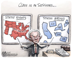 Higher Learning  by Adam Zyglis