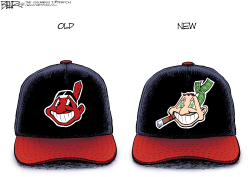 Chief Wahoo by Nate Beeler