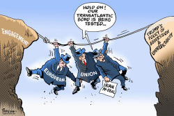 EU on Iran deal by Paresh Nath