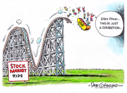 Stock market ride 2018 by Dave Granlund