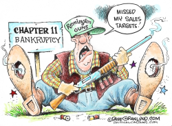 Remington bankruptcy by Dave Granlund