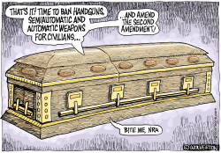 Bite Me NRA by Wolverton