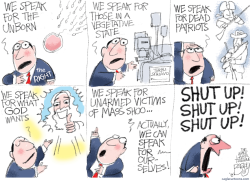 Voice of God by Pat Bagley