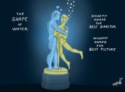 The Shape of Water by Stephane Peray