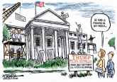 White House Makeover by Jeff Koterba, Omaha World Herald, NE