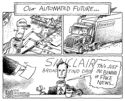 Sinclair Broadcasting by Adam Zyglis