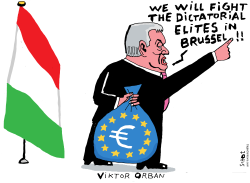 illiberal democracy in Hungary by Schot