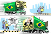 Brazil's democracy by Paresh Nath, The Khaleej Times, UAE