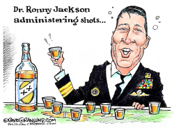 Dr Ronny Jackson problems by Dave Granlund