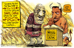 Bill Cosby Reputation Dies () by Daryl Cagle