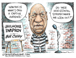 Bill Cosby found guilty by Dave Granlund