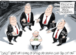 Takers by Pat Bagley